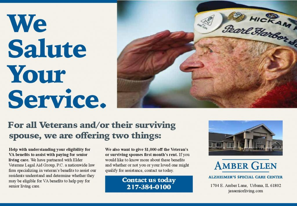Discounts and VA benefits for veterans to help with senior living care, self-care