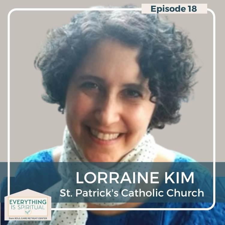 closeup picture of Lorraine Kim white female smiling We Are The Church