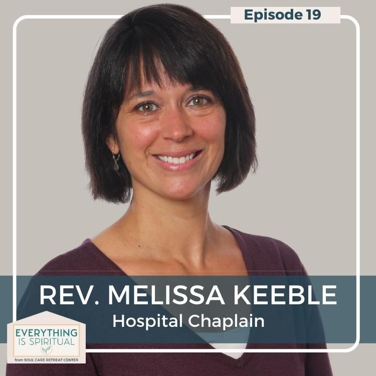 Reverand Melissa Keeble headshot smiling
